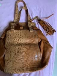 Bolsa couro Anandra