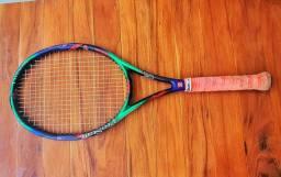 Vendo raquete tênis wilson prostaff 6.7 even balance.<br>Pouco uso