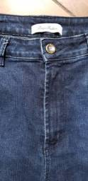 Calça Jeans Azul Feminina.