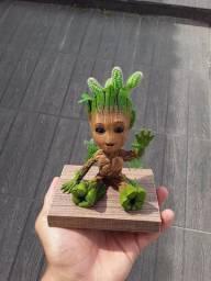 Groot com plantas vivas?