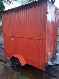 Food trailer para lanche