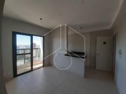 Apartamento à venda com 1 dormitórios em Centro, Marilia cod:V12721