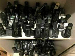 Lote Com 110 Telefones Sem Fio Usado no Estado.Para Retirar!