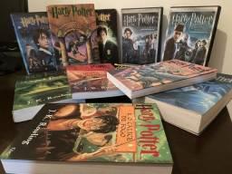 Coleção Harry Potter - DVDs e Livros, usado comprar usado  São Paulo