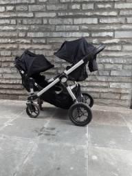 Carrinho de bebê  para gemeos marca city Select