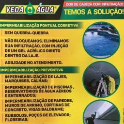 Veda Agua impermeabilizantes e servicos (impermeabilizacao)