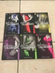 Kit livros A Garota do Calendário