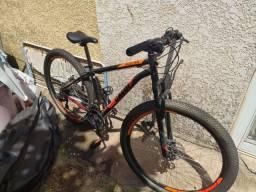 Mountain Bike Caloi Vulcan + Kit (leia a descrição)