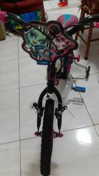 Bicicleta aro 16 Monster High