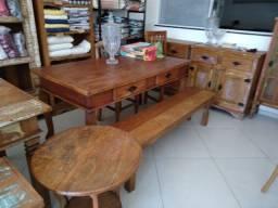 Mesas de jantar em madeira de demolição com preços incríveis, Cabo Frio
