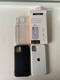 Vendo combo capas iPhone 11