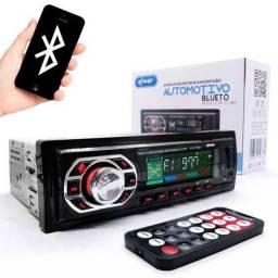 Rádio automotivo com Bluetooth instalação grátis