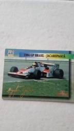 Card Ayrton Senna - Relíquia