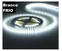 Fita de LED Branca Frio Rolo Com 5 Metros com Fonte de alimentação entrega free