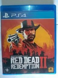 Jogo de PS4 ( Red dead Redemption 2) Novo!