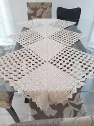 Faço trabalhos em crochê