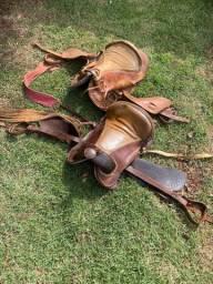 Vendo selas para cavalo usadas