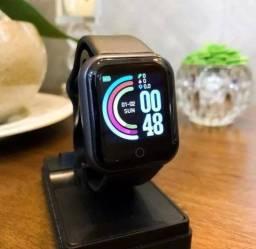 Smartwatch relógio inteligente cor preta qualidade y68 ENTREGA RÁPIDA
