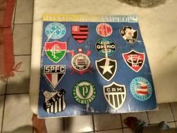 Disco de vinil de time de futebol
