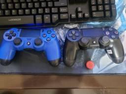 Vendo Fone da HyperX Cloud BLUE+ Controle Ps4 novo + The last of us remasterizado