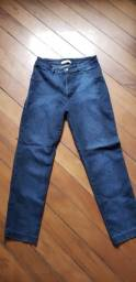 Calça Jeans Laço Fashion Feminina - Tamanho 44