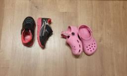 Calçados menina n. 23