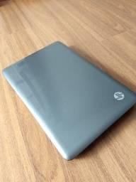 Notebook HP i3, 4gb memoria e hd 500gb
