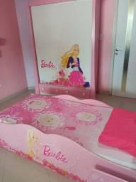 Vendo conjunto quarto da Barbie