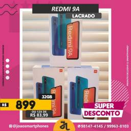 XIAOMI REDMI 9A, 32GB, CINZA, NOVO, LACRADO, PRONTA ENTREGA, SUPER DESCONTO