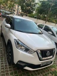 Nissan Kicks SV CVT - 2018 Branco Pérola Único Dono 41KM