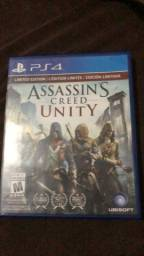 Jogo ps4 assasin's creed unity