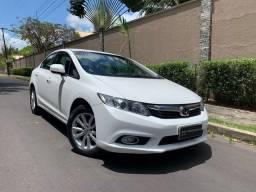 Honda Civic LXR 2.0 Flexone, ano 2014, automático, couro, único dono