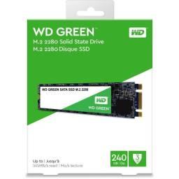 Hd SSD 240gb M.2 WD Western Green