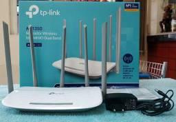 Roteador Wireless TP-Link AC1350 ArcherC60 - 5 Antenas
