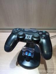 Controle de PS4 + Dock Station
