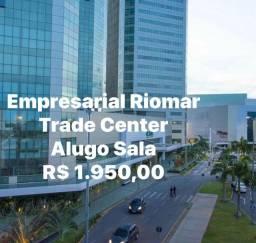 Alugo SALA de 30,50m2 ,Empresarial Riomar Trade Center