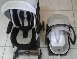 Chicco - Carrinho e Bebê Conforto em ótimo conservação!