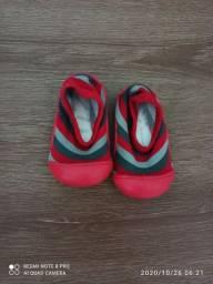 Sapatinho vermelho Pimpolho número 17