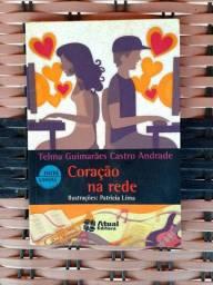 """Livro """"Coração Na Rede"""", Telma Guimaraes Castro Andrade"""