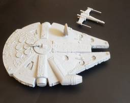 Star Wars - Base Rebelde - Kit Cenário - Plastimodelismo