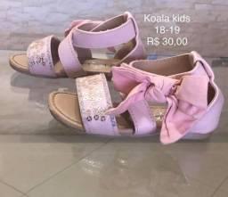 Sapatos infantil Importados e Nacional