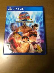 Jogo Street fighter collection PlayStation 4