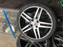 Jogo de rodas 17 308 com pneus
