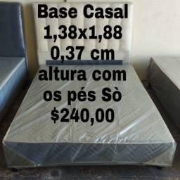 PROMOÇÃO CAMA BOX BASE CASAL FABRICAMOS