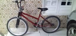 Bike Mônaco vermelha rebaixada