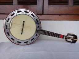 Cavaquinho Cavaco Banjo Lucenir Luthier de Cedro ano 2019 Com Capa de luxo.