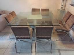 Mesa Jantar com 8 cadeiras NOVISSIMA