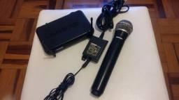 Microfone sem fio shure PG58
