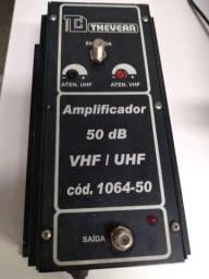 Amplificador Thevear Sinal Digital Coletivo 50db 106450 Hdtv<br><br>