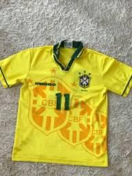 Camisa oficial da seleção campeã mundial de 1994